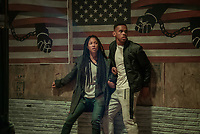 The First Purge (2018) <br /> Lex Scott Davis, Joivan Wade<br /> *Filmstill - Editorial Use Only*<br /> CAP/FB<br /> Image supplied by Capital Pictures