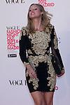 06.09.2012. Vogue Fashion´S Night Out Madrid. In the image Manuela Velles (Alterphotos/Marta Gonzalez)