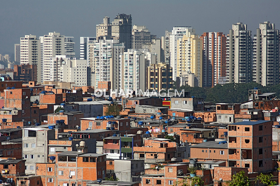 Favela Comunidade Paraisopolis, bairro Morumbi, São Paulo. Brasil. 2017. Foto: Euler Paixão.