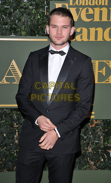 Jeremy Irvine attends the London Evening Standard Theatre Awards 2015, The Old Vic, The Cut, London, England, UK, on Sunday 22 November 2015.<br /> CAP/CAN<br /> &copy;CAN/Capital Pictures