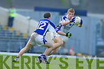 Tommy Walsh Kerins O'Rahillys Gets Past Colm O'Shea Laune Rangers in the Kerry Club U-21 Championship Final at Fitzgerald Stadium on Sunday.