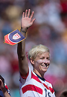 Megan Rapinoe.  The USWNT defeated Costa Rica, 8-0, during a friendly match at Sahlen's Stadium in Rochester, NY.
