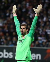 Torwart Kevin Trapp (Eintracht Frankfurt) - 22.12.2018: Eintracht Frankfurt vs. FC Bayern München, Commerzbank Arena, DISCLAIMER: DFL regulations prohibit any use of photographs as image sequences and/or quasi-video.
