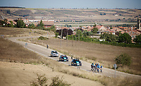 Team SKY stage 17 TT recon ride in Burgos<br /> <br /> restday 2<br /> 2015 Vuelta &agrave; Espagna