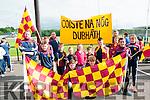 Feile Parade:Members of the Duagh team that took part in then Feile parade in Listowel on Saturday evening last.