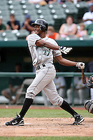 June 13th 2008:  Denis Phipps of the Dayton Dragons, Class-A affiliate of the Cincinnati Reds, during a game at Stanley Coveleski Regional Stadium in South Bend, IN.  Photo by:  Mike Janes/Four Seam Images