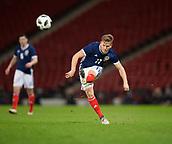 23rd March 2018, Hampden Park, Glasgow, Scotland; International Football Friendly, Scotland versus Costa Rica; Matt Ritchie of Scotland