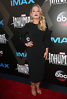UNIVERSAL CITY, CA - August 28: Ellen Woglom, At Premiere Of ABC And Marvel's 'Inhumans' At Universal City Walk In California on August 28, 2017. Credit: FS/MediaPunch