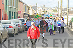 The Ballybunion St Patricks Day parade is led off by Grand Marshall John Walsh Mayor of Ballybunion in which destination who organised the St Patricks day parade.  ....