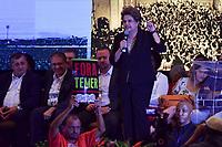 BRASÍLIA, DF, 01.06.2017 – DILMA-LULA – A ex-presidente Dilma Rousseff durante o 6º Congresso Nacional do PT em Brasília, nesta quinta-feira, 01. (Foto: Ricardo Botelho/Brazil Photo Press)