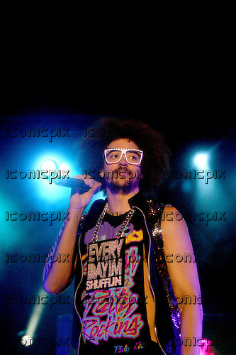 LMFAO - DJ Refoo ( aka Stefan Kendal Gordy) performing live at the Academy in Birmingham UK - 09 Mar 2012.  Photo credit: Tony Woolliscroft/IconicPix