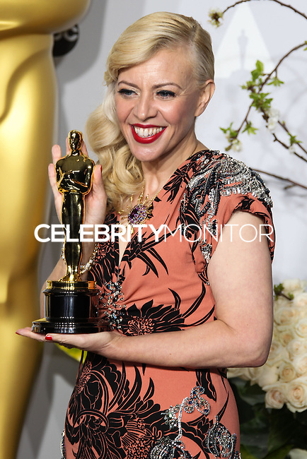 HOLLYWOOD, LOS ANGELES, CA, USA - MARCH 02: Catherine Martin at the 86th Annual Academy Awards - Press Room held at Dolby Theatre on March 2, 2014 in Hollywood, Los Angeles, California, United States. (Photo by Xavier Collin/Celebrity Monitor)