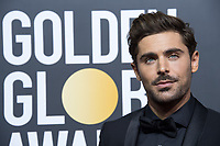 Zac Efron arrives at the 75th Annual Golden Globe Awards at the Beverly Hilton in Beverly Hills, CA on Sunday, January 7, 2018.<br /> *Editorial Use Only*<br /> CAP/PLF/HFPA<br /> &copy;HFPA/PLF/Capital Pictures