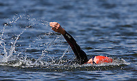 26 JUL 2008 - TREDEGAR, UK - Liz Blatchford - British Elite Triathlon Championships. (PHOTO (C) NIGEL FARROW)