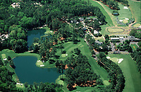 4th April 1999, Augusta GA, USA; The US Masters Golf Course Aerial view