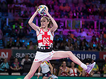 Fast5 2017<br /> Fast 5 Netball World Series<br /> Hisense Arena Melbourne<br /> Match <br /> England v Malawi<br /> Helen Housby<br /> <br /> <br /> <br /> Photo: Grant Treeby