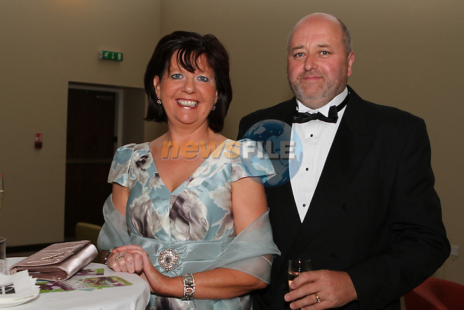 Rita Guinan, Tipperary North and Joe Guinan at the Network Ireland National Conference and Business Women of the Year Awards 2012 - Friday 28th September in Drogheda, Co. Louth..Photo NEWSFILE/Jenny Matthews.