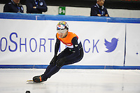 SHORT TRACK: TORINO: 14-01-2017, Palavela, ISU European Short Track Speed Skating Championships, 1500m Semifinals, Daan Breeuwsma (NED), ©photo Martin de Jong
