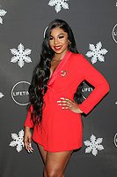 """LOS ANGELES - OCT 22:  Ashanti Douglas at the """"It's A Wonderful Lifetime"""" Holiday Party at the STK Los Angeles on October 22, 2019 in Westwood, CA"""