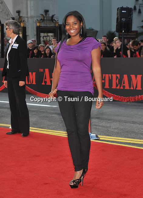 Shar jackson _41   -<br /> The a-Team Premiere at the Chinese Theatre In Los Angeles.