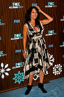 January 11, 2010:  Lisa Edelstein arrives at the Fox All Star Party at the Villa Sorisso in Pasadena, California.Photo by Nina Prommer/Milestone Photo