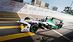 Lucas di Grassi of Brazil from Audi Sport ABT Schaeffler competes in the Formula E Qualifying Session 2 during the FIA Formula E Hong Kong E-Prix Round 2 at the Central Harbourfront Circuit on 03 December 2017 in Hong Kong, Hong Kong. Photo by Marcio Rodrigo Machado / Power Sport Images
