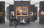 London, England. 15 October 2014. Stand of Bernheimer and Colnaghi. Fine art fair Frieze Masters 2014 in Regent's Park, London. Photo: Bettina Strenske