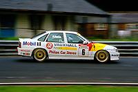 Round 9 of the 1991 British Touring Car Championship. #6 Jeff Allam (GBR). Vauxhall Sport. Vauxhall Cavalier.