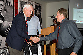 Referee of the Year Simon Brown receives his award from Vic Hinton. CMRFU Senior prize giving held at Growers Stadium on Wednesday 22nd of October 2008.