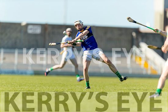 Shane Nolan Kerry in action against  Offaly in the National Hurling League in Austin Stack Park, Tralee on Sunday.