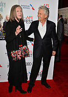 "LOS ANGELES, CA. November 10, 2018: Susan Sullivan & Michael Douglas at the AFI Fest 2018 world premiere of ""The Kominsky Method"" at the TCL Chinese Theatre.<br /> Picture: Paul Smith/FeatureflashLOS ANGELES, CA. November 10, 2018: Susan Sullivan at the AFI Fest 2018 world premiere of ""The Kominsky Method"" at the TCL Chinese Theatre.<br /> Picture: Paul Smith/Featureflash"