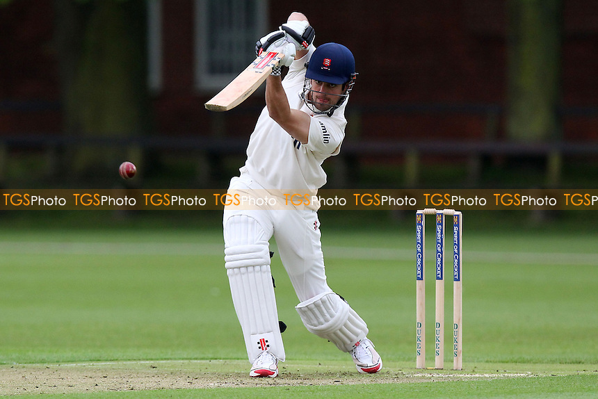 Alastair Cook of Essex drives four runs - Cambridge MCCU vs Essex CCC - Pre-Season Friendly Cricket Match at Fenners Ground, Cambridge - 07/04/14 - MANDATORY CREDIT: Gavin Ellis/TGSPHOTO - Self billing applies where appropriate - 0845 094 6026 - contact@tgsphoto.co.uk - NO UNPAID USE