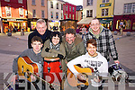 Pictured announcing details of the KDYS busking day in Tralee on 15th December were l-r: Sean Carroll Kieran Ruttledge (President, Tralee Chamber Alliance) Lucy Chung, John Buggy (KDYS) Hassain Ali and Alex O'Brien....