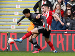 George Baldock of Sheffield Utd during the Premier League match at Bramall Lane, Sheffield. Picture date: 7th March 2020. Picture credit should read: Simon Bellis/Sportimage