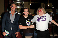LOS ANGELES - OCT 6: Peter Marc Jacobson, Shawn Ryan, Bruce Vilanch at the Right This Way, Your Table's Waiting cabaret performance - to benefit The Actors Fund held at  The Catalina Jazz Club on October 8, 2017 in Los Angeles, CA