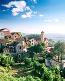 MADAGASCAR, Antananarivo with mountain ranges in background