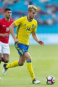 June 1th 2017, Ullevaal Stadion, Oslo, Norway; International Football Friendly 2018 football, Norway versus Sweden;  Filip Helander of Sweden in action