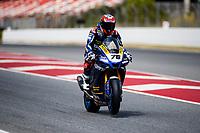 9th July 2020; Circuit de Barcelona Catalunya, Barcelona, Spain; FIM Superbike World Championship Test, Day Two; Loris Baz of the Ten Kate Racing Yamaha Team rides the Yamaha YZF R1