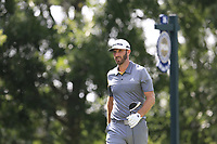 Dustin Johnson (USA) walks off the 16th tee during Saturday's Round 3 of the 2017 PGA Championship held at Quail Hollow Golf Club, Charlotte, North Carolina, USA. 12th August 2017.<br /> Picture: Eoin Clarke | Golffile<br /> <br /> <br /> All photos usage must carry mandatory copyright credit (&copy; Golffile | Eoin Clarke)