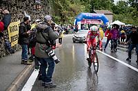 Matteo Montaguti (ITA/Androni-Giocattoli)<br /> <br /> Stage 9 (ITT): Riccione to San Marino (34.7km)<br /> 102nd Giro d'Italia 2019<br /> <br /> ©kramon