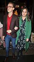 Tom Fletcher and Giovanna Fletcher at the &quot;Labour Of Love&quot; press night, Noel Coward Theatre, St Martin's Lane, London, England, UK, on Tuesday 03 October 2017.<br /> CAP/CAN<br /> &copy;CAN/Capital Pictures