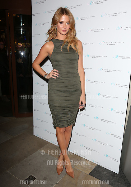 Millie Mackintosh arriving for the Nouveau Lashes Launch, London.  18/09/2012 Picture by: Henry Harris / Featureflash