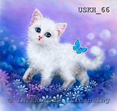 Kayomi, CUTE ANIMALS, paintings, GardenWalk_M, USKH66,#AC# illustrations, pinturas ,everyday