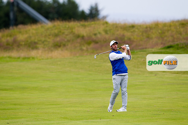 Romain Wattel (FRA) on the 9th during round 2 of the Aberdeen Asset Management Scottish Open 2017, Dundonald Links, Troon, Ayrshire, Scotland. 14/07/2017.<br /> Picture Fran Caffrey / Golffile.ie<br /> <br /> All photo usage must carry mandatory copyright credit (&copy; Golffile | Fran Caffrey)