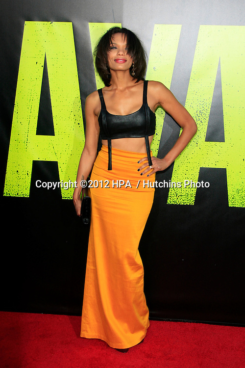 """LOS ANGELES - JUN 25:  Amber Dixon arrives at the """"Savages"""" Premiere at Village Theater on June 25, 2012 in Westwood, CA"""