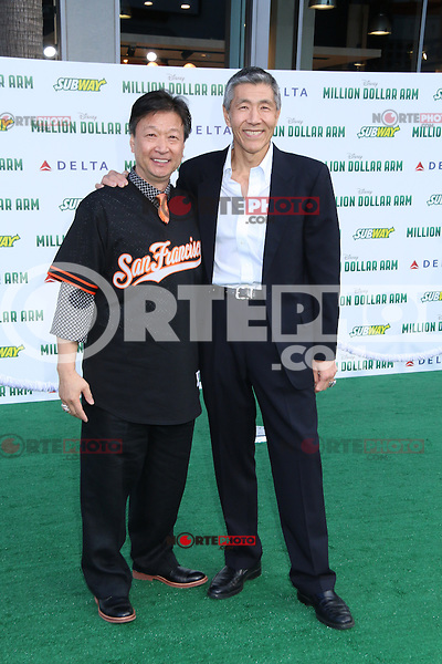 HOLLYWOOD, CA - MAY 6:  Tzi Ma, Will Chang at the Premiere Of Disney's 'Million Dollar Arm'  on May 6, 2014 at El Capitan Theatre in Hollywood, California. Credit: SP1/Starlitepics /nortephoto.com