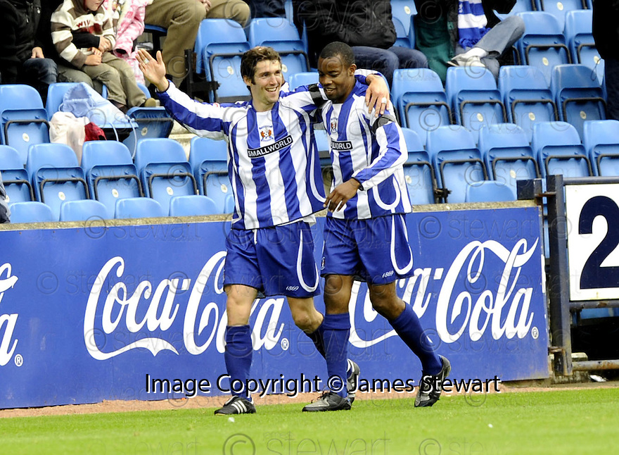 17/05/2008   Copyright Pic: James Stewart.File Name : sct_jspa19_kilmarnock_v_falkirk.PAUL DI GIACOMO CELEBRATES AFTER HE SCORES KILMARNOCK'S SECOND.James Stewart Photo Agency 19 Carronlea Drive, Falkirk. FK2 8DN      Vat Reg No. 607 6932 25.Studio      : +44 (0)1324 611191 .Mobile      : +44 (0)7721 416997.E-mail  :  jim@jspa.co.uk.If you require further information then contact Jim Stewart on any of the numbers above........