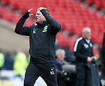Neil Lennon dejection at full time