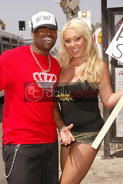 "Mary Carey and Syrus from MTV's ""Real World"""