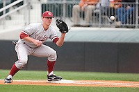 Jonathan Kaskow of the Stanford Cardinal against the Texas Longhorns at  UFCU Disch-Falk Field in Austin, Texas on Friday February 26th, 2100.  (Photo by Andrew Woolley / Four Seam Images)